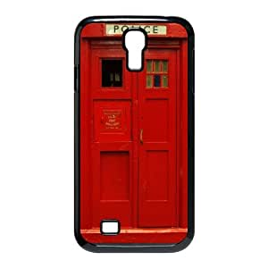 DDOUGS Police Box Customised Cell Phone Case for SamSung Galaxy S4 I9500, Wholesale Police Box Case