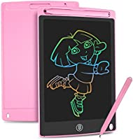 HOMESTEC Colourful LCD Writing Tablet,8.5 inch Drawing Board Graphic Tablet Lock-Key Handwriting Doodle Drawing Pad Kids...