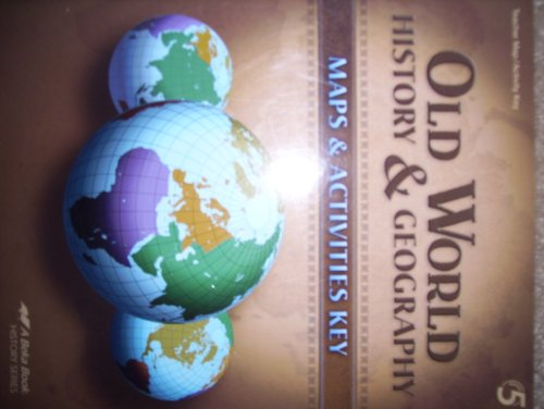 Old World History & Geography, Grade 5, Abeka 2009 for sale  Delivered anywhere in USA