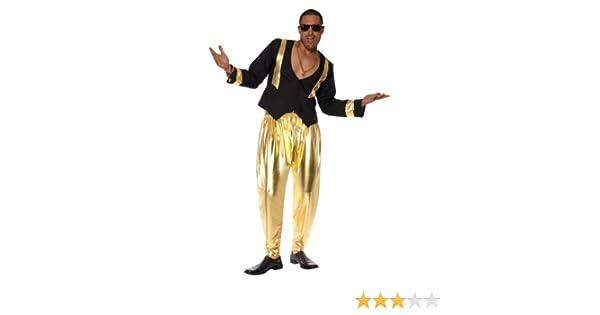 Smiffys Disfraz de rapero de los años 90 para hombre: Amazon.es ...