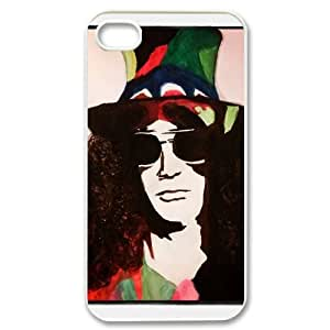 Iphone 4,4S 2D Customized Phone Back Case with Slash Image
