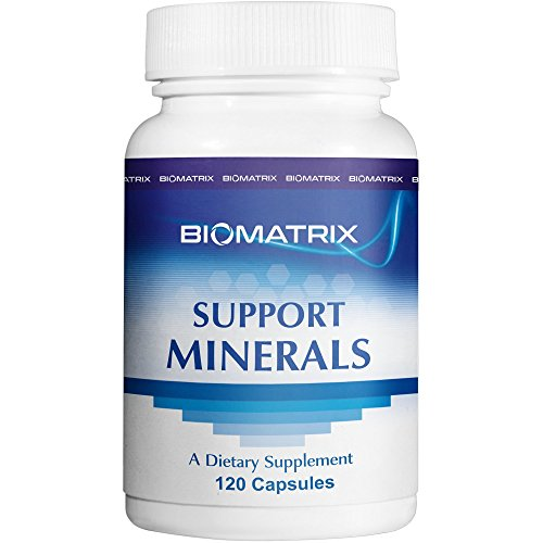 Betaine Nutrition Hcl Minerals - Support Minerals (120 Capsules) - Macro and Trace Minerals Supplement with Boron, Calcium, Magnesium, Zinc, Iodine, Copper, Selenium, Chromium, Potassium, Kreb Cycle Carriers Increase BioAvailability