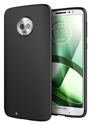 Cimo Slim Matte Moto G6 Case with Premium TPU Protection for Motorola Moto G6 - Black