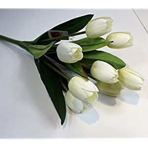9 Heads Tulip Flower Artificial Flowers simulation silk flowers for wedding home decoration beautiful tulip flowers 35