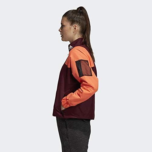 adidas Women's W BTS Lined JKT Vest, Garnet Red/Coalre, M