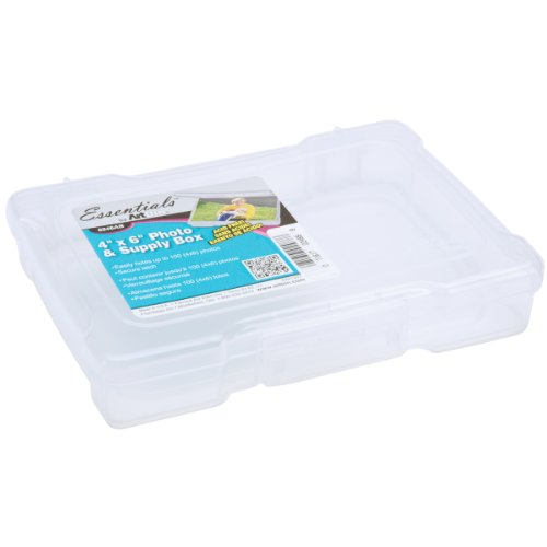 (ArtBin 4 Inch x 6 Inch Photo & Supply Box - Translucent, 6946AB)