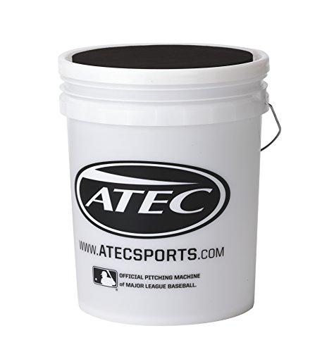 Atec Hi Per Pro Leather Flat Seam Baseball/Ball Bucket