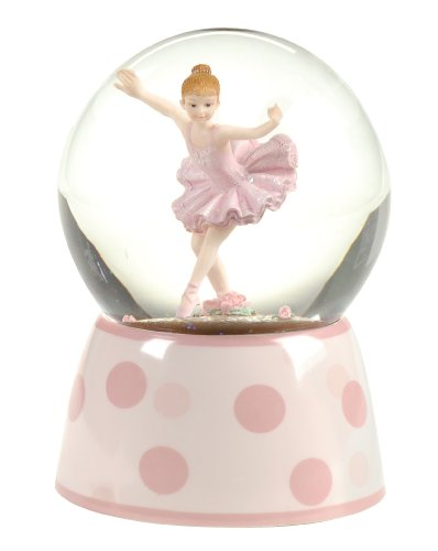 Buy ballerina snow globe musical