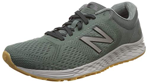 New Balance Men's Arishi V2 Fresh Foam Running Shoe, Green/Silver, 11 D ()