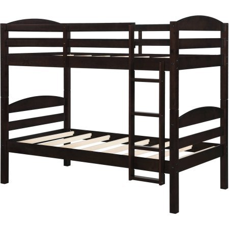 Better Homes and Gardens Leighton Twin Over Twin Wood Bunk Bed (Bed Only) by Better Homes and Gardens (Image #6)