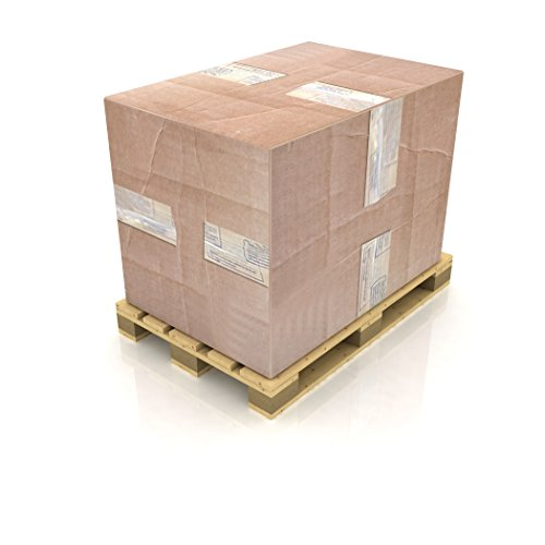 PCX14, Pallet Covers and Box Liners, 55x45x73 inches, 3 Mil, Clear, LDPE Low Density, Case of 20