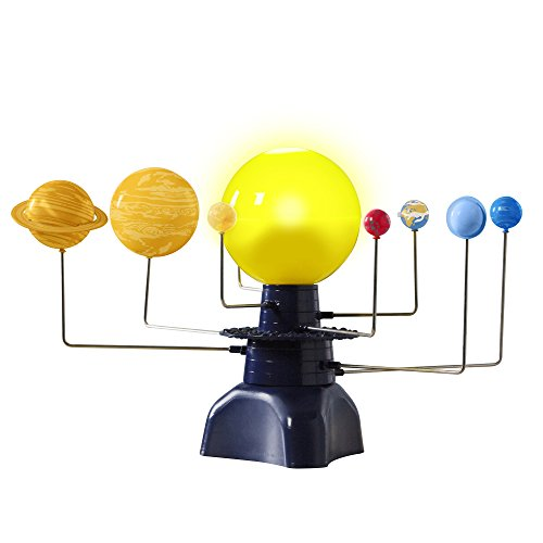 Educational Insights Geosafari Motorized Solar System Science Kit (Movement Of The Moon Around The Earth)