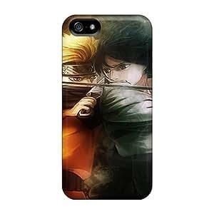 AlexandraWiebe For SamSung Galaxy S4 Phone Case Cover Well-designed Hard Naruto Vs Sasuke Protector