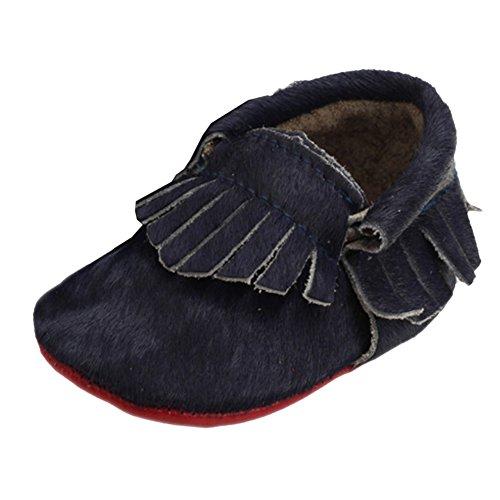 Leap FrogMoccasins Boots - Mocasines bota para niño azul marino