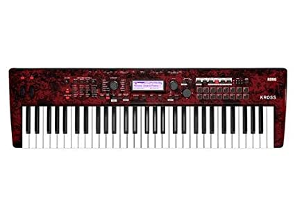 Korg KROSS2 61-Key Synthesizer Workstation (Red Marble (Limited Edition))