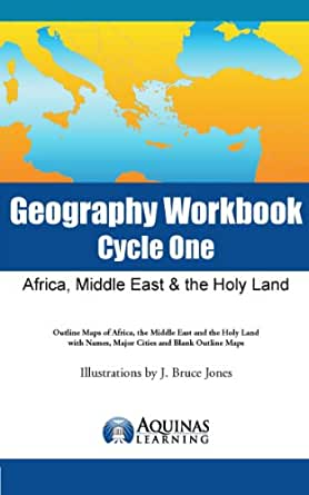 Amazon.com: Geography Workbook, Cycle One: Africa, Middle East ...