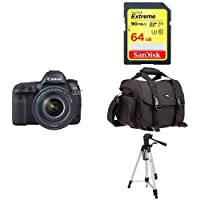 Canon EOS 5D Mark IV Full Frame Digital SLR Camera with EF 24-105mm f/4L IS II USM Lens Kit + Accessory Bundle