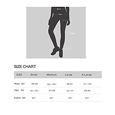 Beorbus Women's Long Fleece Lined Thermal Tights Winter Running Cycling Skiing Leggings Pants With Back Zippered Pocket and Reflective Strips