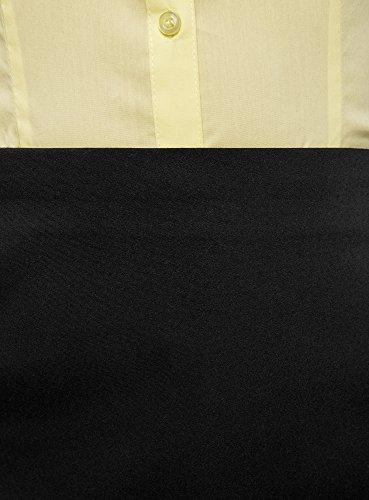 Ultra Courte Jupe Noir Femme Trapze oodji 2900n PdwqzSz