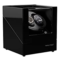 Watch Winder for Rolex Automatic Watches,Powerd by Janpanes Motor,4 Rotation Mode Setting, Fit Lady and Man