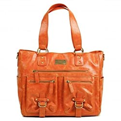 Kelly Moore Libby Orange Fashionable Camera Bag