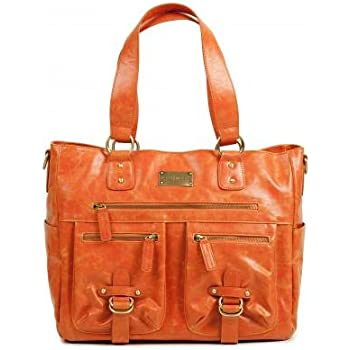 Kelly Moore Libby Orange Fashionable Camera Bag