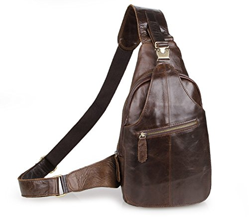 Grain Leather Backpack - 7