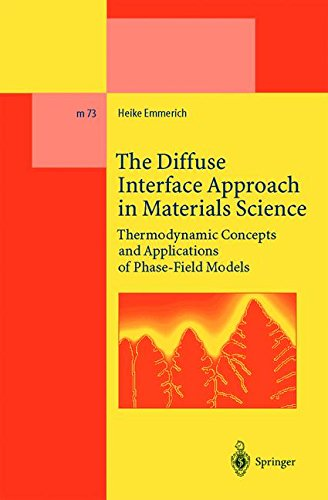 The Diffuse Interface Approach in Materials Science: Thermodynamic Concepts and Applications of Phase-Field Models (Lect