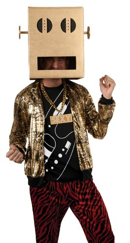 [Rubie's Costume Lmfao Robot Pete Shuffle Bot Party Rock Anthem Costume, Multi, Standard] (Lmfao Costume Party Rock)