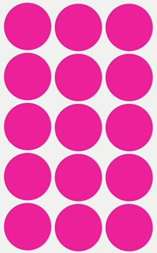 (Label Stickers Round Pink Circle dots for Marking 30mm (1.25