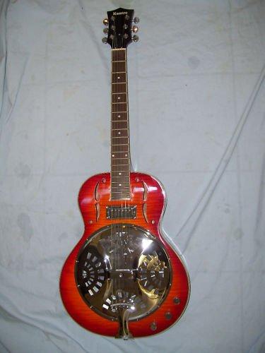 Resonator Electric Guitar, NEW