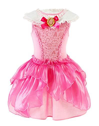 Sleeping Beauty Fancy Dress Costumes - Toddler Girls Aurora Costume Sleeping Beauty
