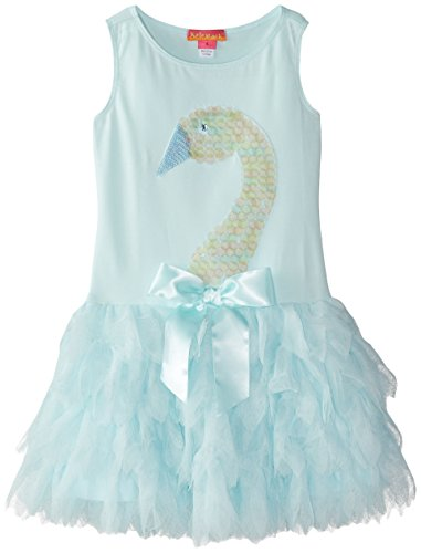 Kate Mack Little Girls' Swan Lake Act 2 Dress, Aqua, 6X by Kate Mack