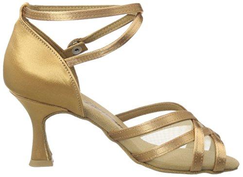 ballo Brown Scarpe bronzo Salon 087 Diamond Tanzschuhe 035 087 da Damen Latein x6q8wF6