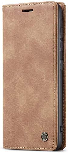 Excelsior Flip,Wallet Case for Apple iPhone 11  Leather,Brown