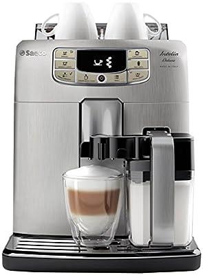Saeco Philips Intelia Deluxe Espresso Machine, Silver