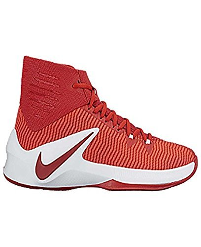 Nike Mens Zoom Clear Out TB Basketball Shoes Scarlet ZCjrud3RB