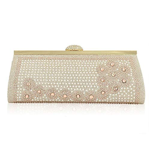 Ladies Shoulder Evening Banquet Bag Bag Clutch Diamond ULKpiaoliang Blue Party Wedding Handbags Bags Rhinestone Crystal Women pzXdSSwq