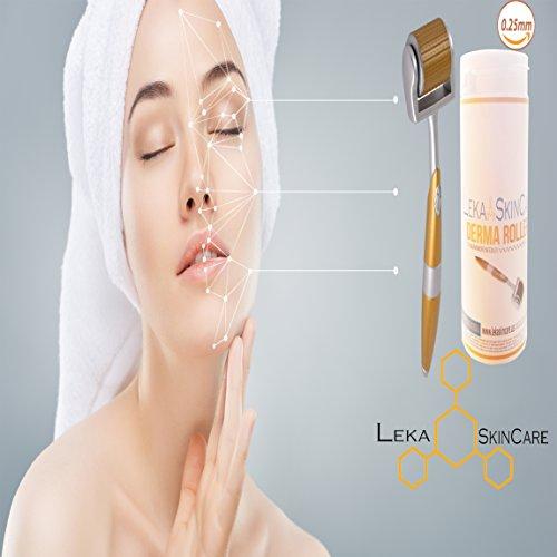 Skin Care Tool Confident Ice Roller Skin Cool Derma Roller Massager For Face Body Massage Facial Skin Care Preventing Wrinkle Dermo Roller Evident Effect