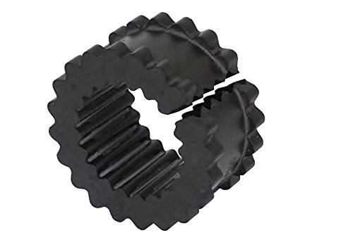 (Lovejoy 36707 Size 8JES Split Design S-Flex Coupling Sleeve, EPDM Rubber, 5.06