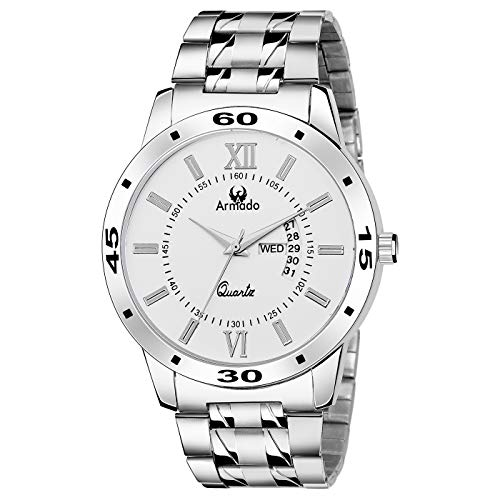 Armado AR 101 WHT Date n Day Watch for Men