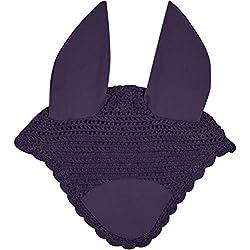 Weatherbeeta Prime Ear Bonnet (Full) (Purple Penant)