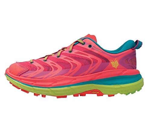 Hoka One One Running Speedgoat Neon Coral/Aqua