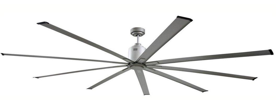 Big Air 6 foot Silver Ceiling Fan By Ventamatic 6 Speeds 10203 CFM ICF72UPS