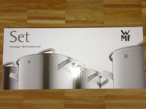 wmf 0717146380 topfset profiselect 4 teilig. Black Bedroom Furniture Sets. Home Design Ideas