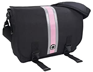 DadGear Messenger - Pink Center Stripe from DadGear