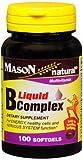 Cheap Mason Natural B Liquid Complex 100 Softgels