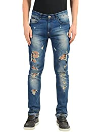 Illegal Fight Club Mens Slim Fit Jeans