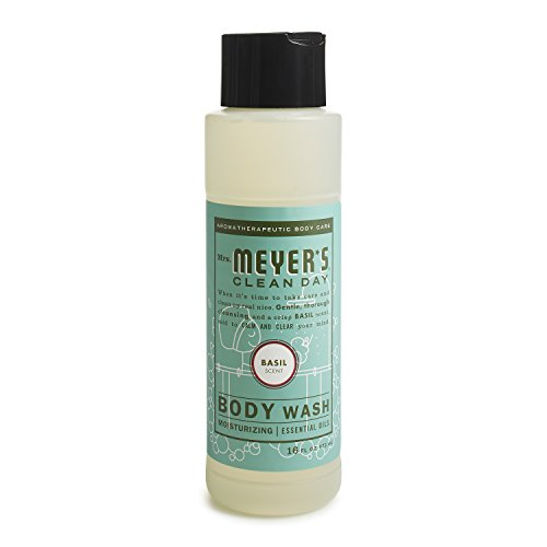 Animale Shower Gel (Mrs. Meyer's Body wash, Basil, 16 fl oz)