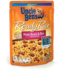 Amazon.com : Uncle Ben's Ready Rice Pinto Beans & Rice